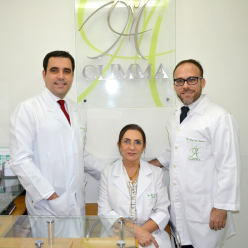 Dr Daniel Mariano de Andrade, Dra Gilva Mariano e Dr Regis Mariano de Andrade